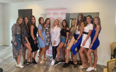 Sminkoktatáson vettek részt a Miss Queen Hungary döntősei